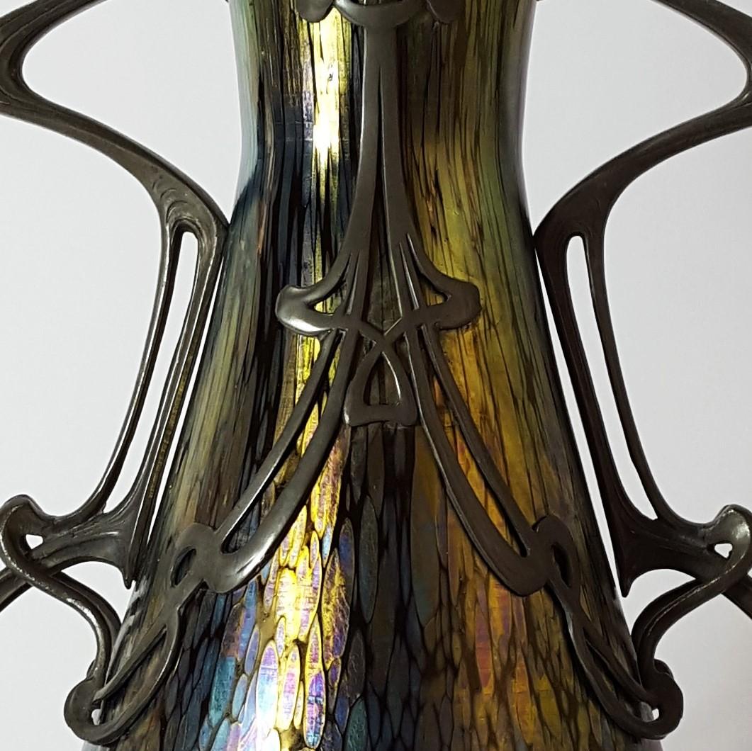 Detail Loetz Vase
