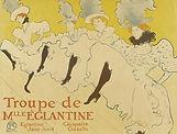 1896 Lautrec Troupe de Mademoiselle Eglantine