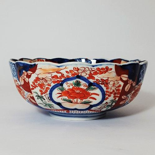 Antique Imari Footed Bowl