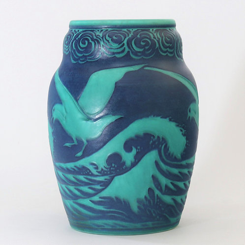 Royal Lancastrian Art Deco Vase by William S Mycock 1931