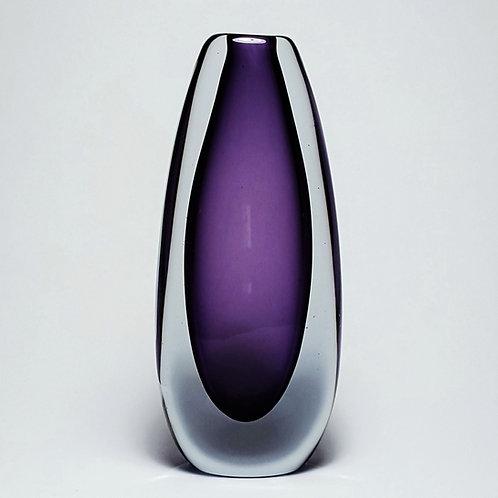 Stromberg Amethyst Vase by Gunnar Nylund/Asta Strömberg c.1950's