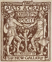 Arts n Crafts Exhibition Society Poster.