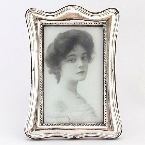 Art Nouveau Silver Photograph Frame by G & C.H. Birmingham 1918