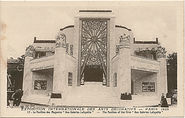 One of the many pavilions constructed for the 1925 Paris International Exhibition of Modern Decorative and Industrial Arts