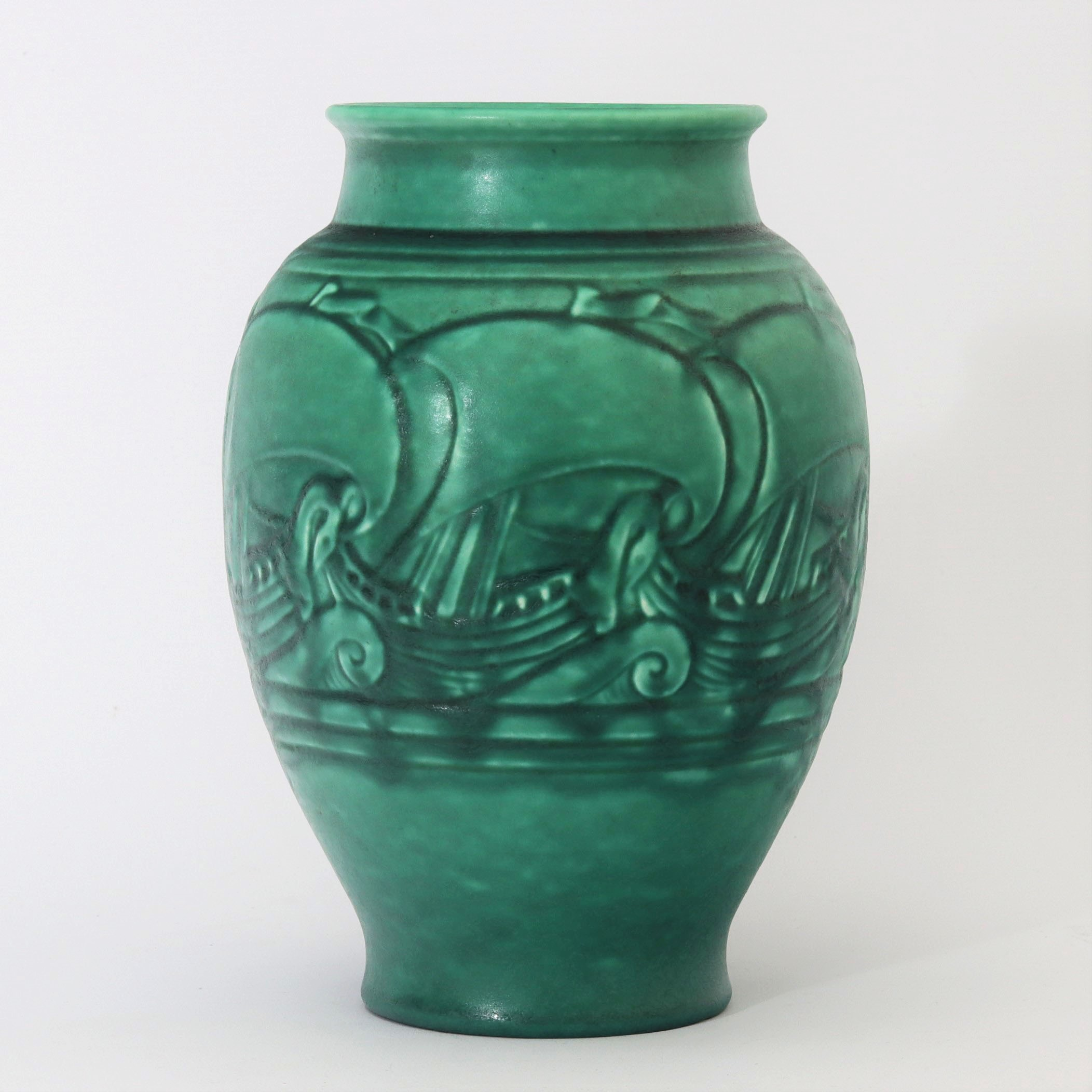 Royal Lancastrian Decorated Vase