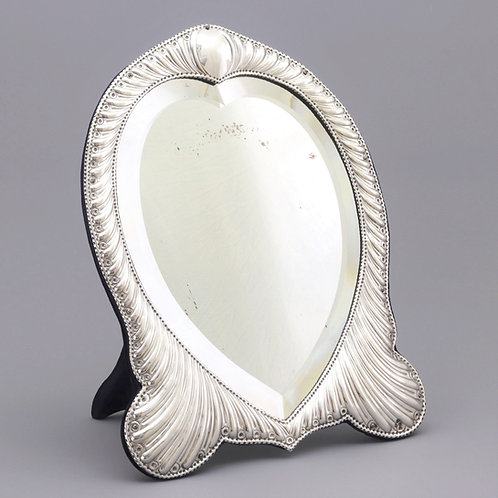 Antique Silver Dressing Table Mirror by William Comyns 1893