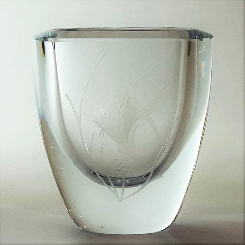 Small Stromberg Art Glass Vase 1023 c1960s