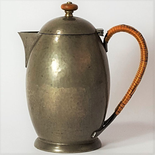 Liberty & Co Pewter Coffee Pot c1910