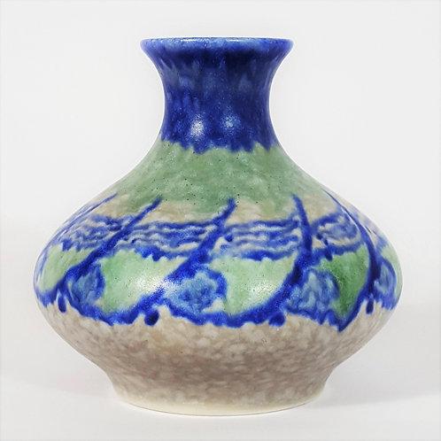 Pilkington Royal Lancastrian Lapis Ware Vase
