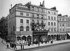 Liberty & Co East India House Regent Street c1890