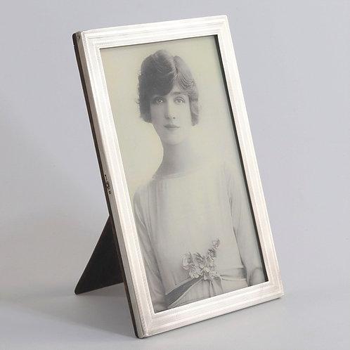 Antique Silver Photograph Frame by E Mander & Son 1922