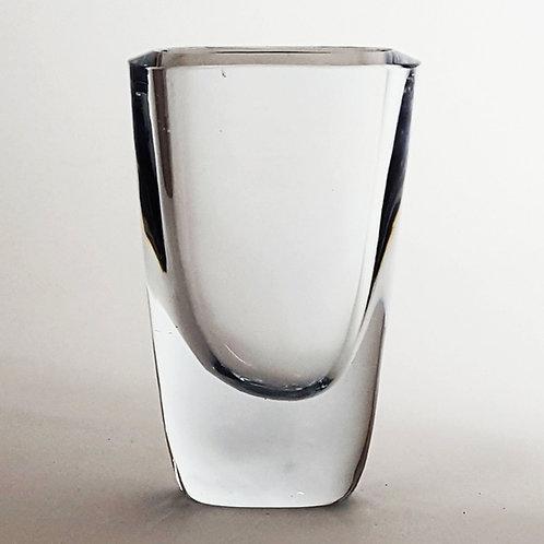 Stromberg Art Glass Vase B852 by Asta Stromberg c1955 (11cm)
