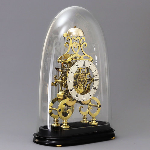 Double Fusee Skeleton Clock by A.B. Savory & Sons Cornhill c.1850