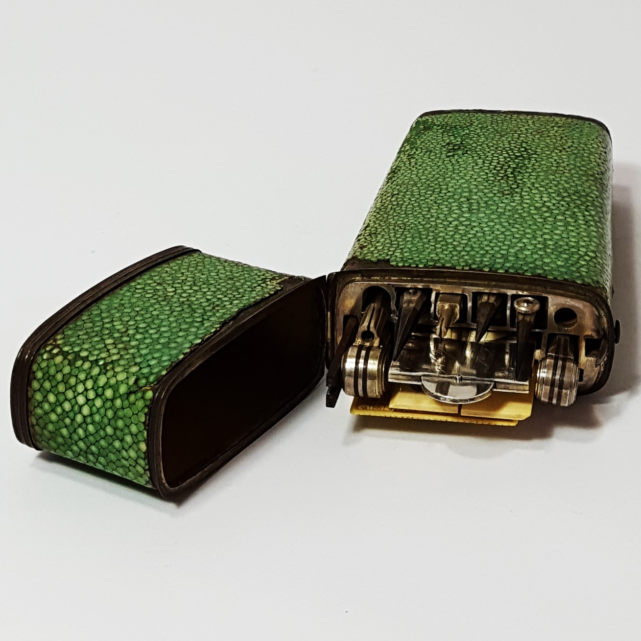 Shagreen Cased Set c1835
