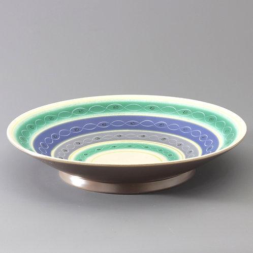 Poole Pottery Freeform Large Bowl PLT c1955-59