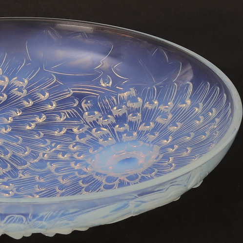 Pierre D'Avesn Art Deco Opalescent Glass Charger