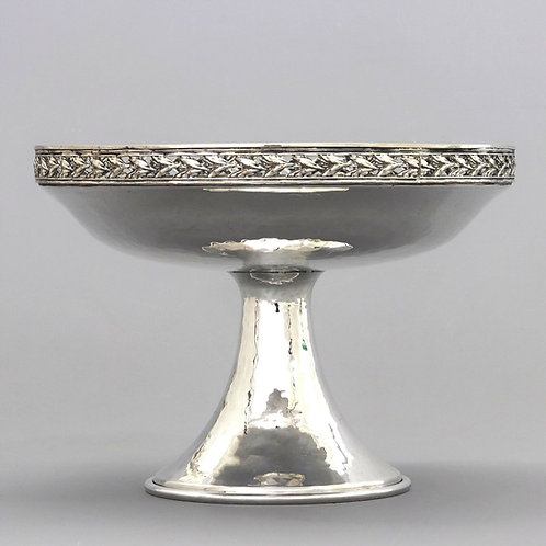 Arts & Crafts Silver Plated Tazza AE Jones & Co. c1905