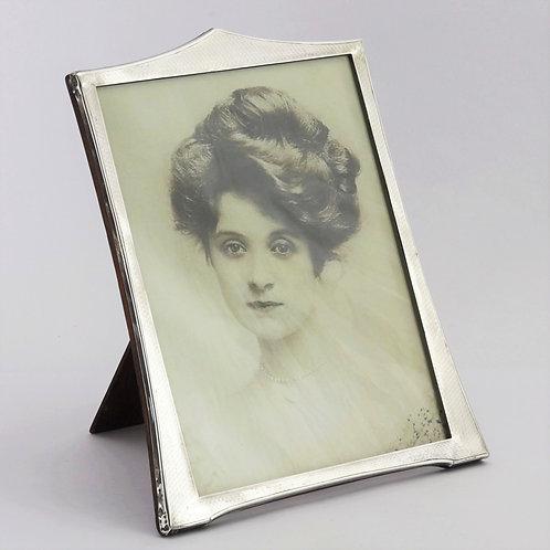 Art Deco Silver Photo Frame by Samuel M Levi Birmingham 1926