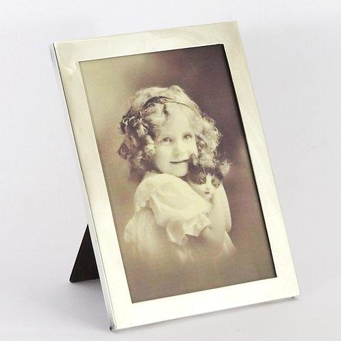 Rectangular Silver Photo Frame by Walker & Hall Birmingham 1923