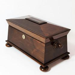 Rosewood Tea Caddy c1815