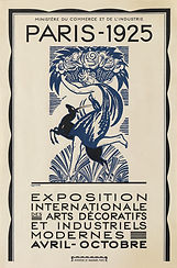 Poster for 1925 Paris International Exhibition of Modern Decorative and Industrial Arts