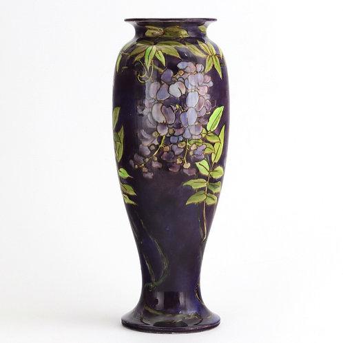 Doulton Faience Art Nouveau Vase by Agnes EM Baigent