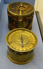 Table_or_traveling_clock,_Southern_Germa