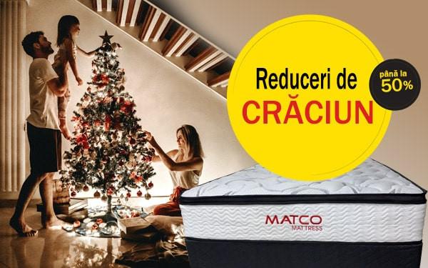 Reduceri de Crăciun la saltelele ortopedice!