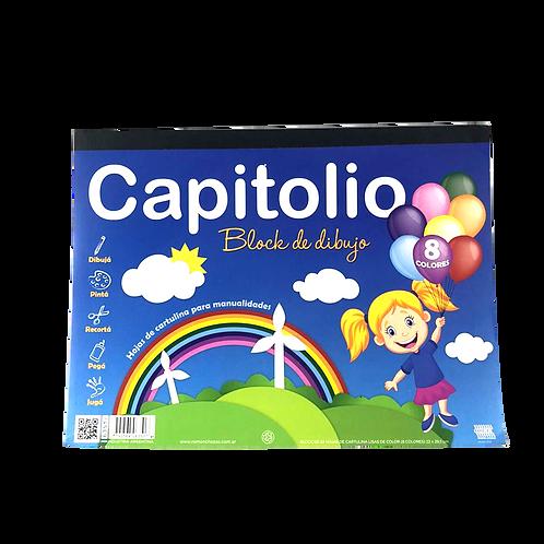 Block Cartulina X24Hjs 6351