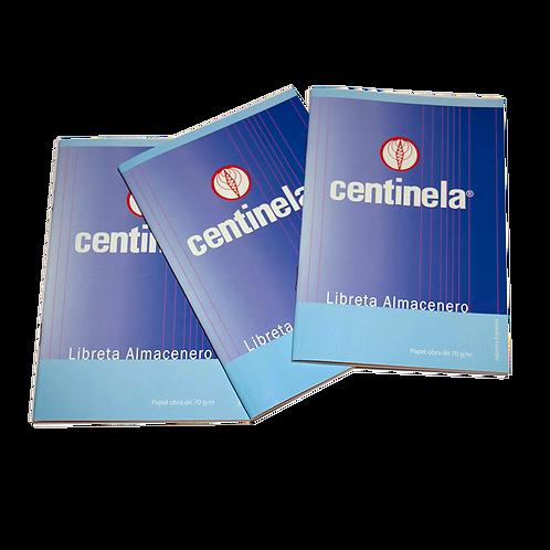 Libreta Centinela Almacenero 32Hjs 231907