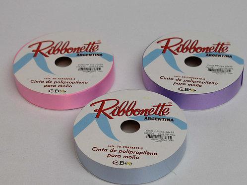 Cod. - 15642 - Cinta Ribbonette Pp 20X25 375