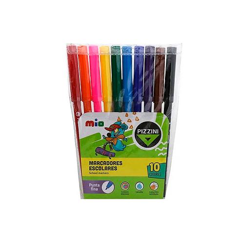 Cod. - 15070 - Boligrafo 1Mm Colores Fantasía X5 B31Cs1X5