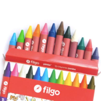 Crayones De Cera Pinto Estuche X12 Wxc-E12-Sur