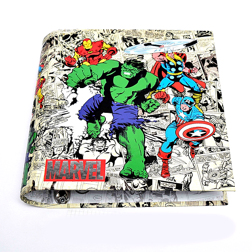 Carpeta Escolar 3X40 Marvel 1001208