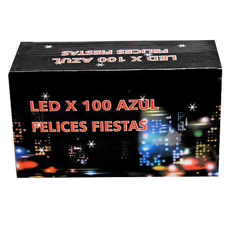 LUZ LED X100 AZUL POL7