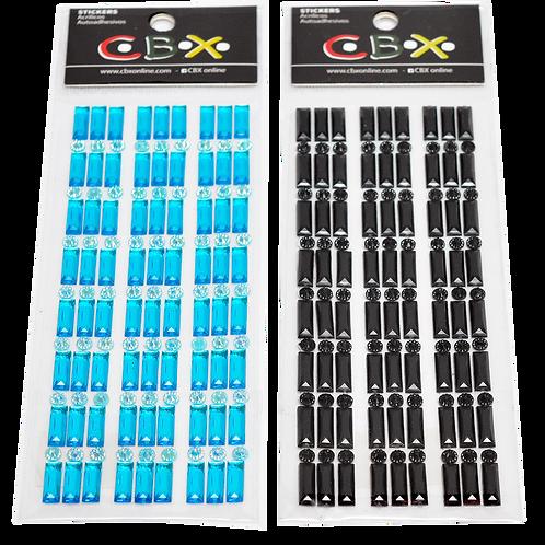 Stickers Bag 7X22 Baguette