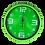 Thumbnail: Cod. - 19176 - Reloj De Pared 26Cm Yw4555