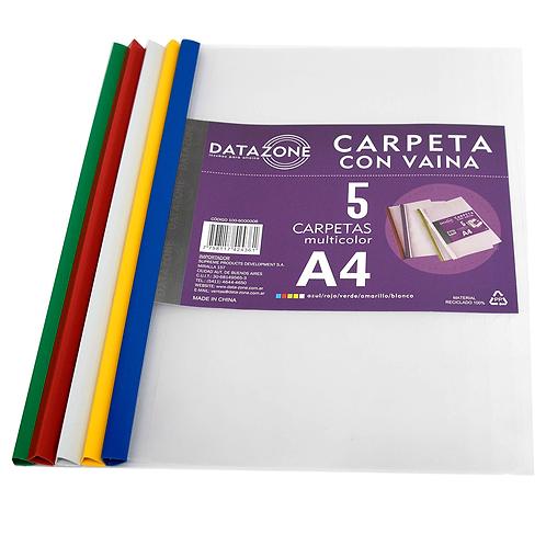 Carpeta A4 Con Vaina Multicolor