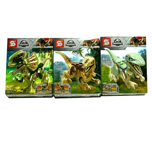 Lego Dinosaurio Jurasic Park 1238
