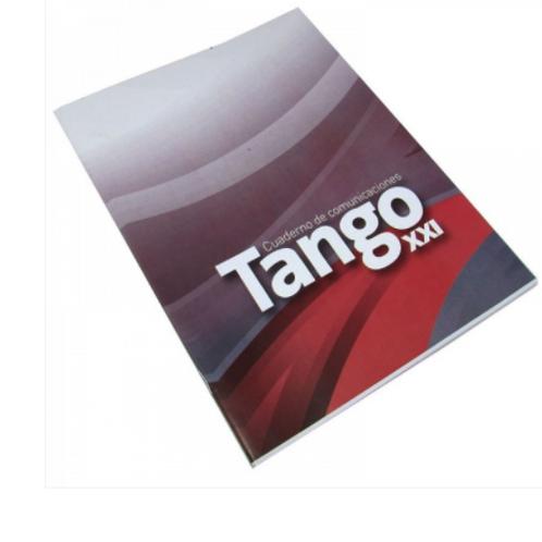 Cod. - 16410 - Cuaderno De Comunicaciones Tango 24 Hjs T/F