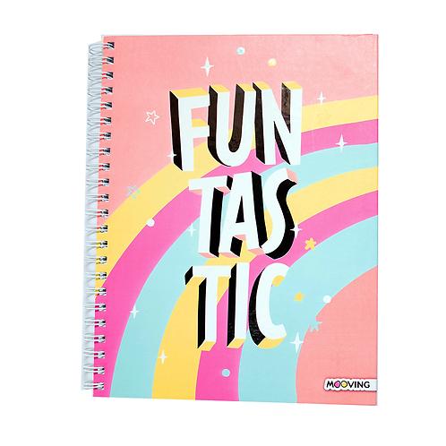 Cuaderno A4 Tapa Dura 120Hjs. Colors 1206108