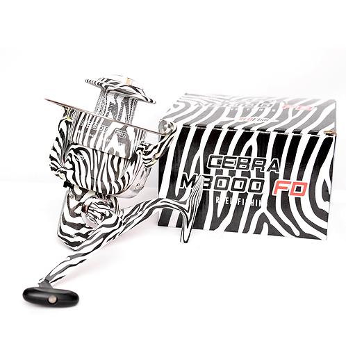 Reel Marea 8000 Fd Zebra - M8000Fdz