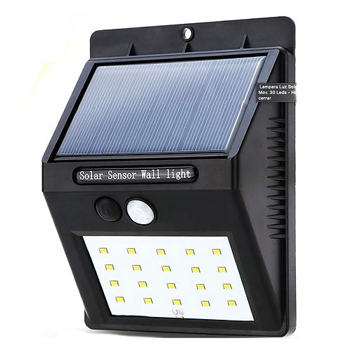 Lampara Solar Para Pared Sl20