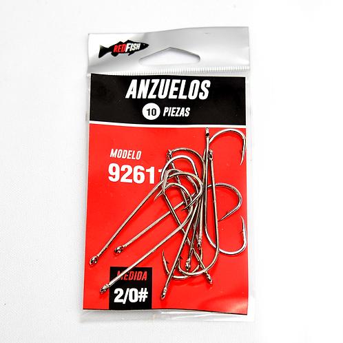 Anzuelo En Bolsa X10 92611-2/0B