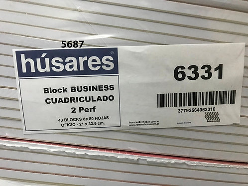 Cod. - 5687 - Block Business Oficio 6331