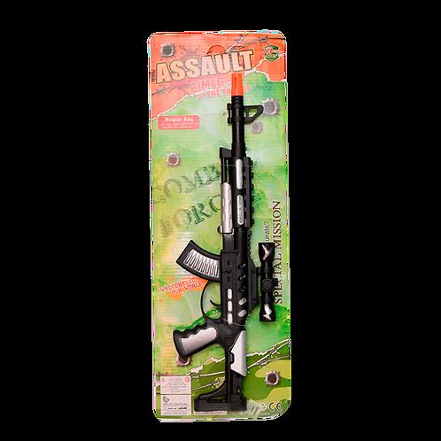 Ametralladora En Carton Verde 506B4