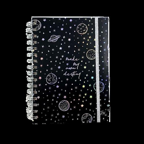 Agenda Fw Diaria C/Espiral 15X21 Galaxy 11296