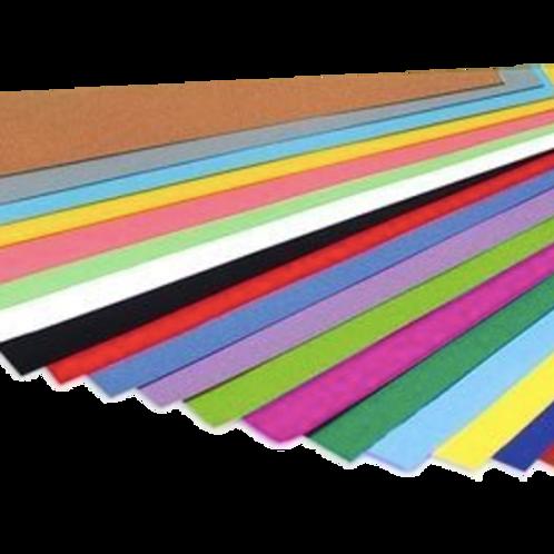 Cod. - 18956 - Cartulina Color Lisa