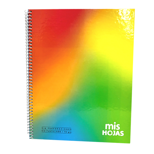 Cod. - 18403 - Cuaderno C/Espiral Mis Hojas 21X27 100H 143298