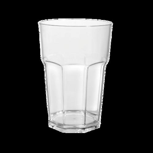 Cod. - 18772 - Vaso Facetado Traslucido Cristal